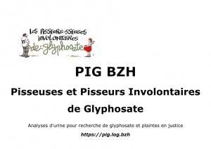 Pisseurs/sseuses Involontaires de Glyphosate